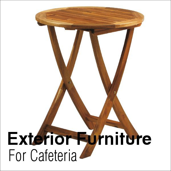 屋内用アカシア材使用 エクステリア家具オイルフィニッシュ仕上げ  フォールディングテーブル