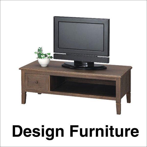 桐材を使用したアンティークな雰囲気のテレビ台