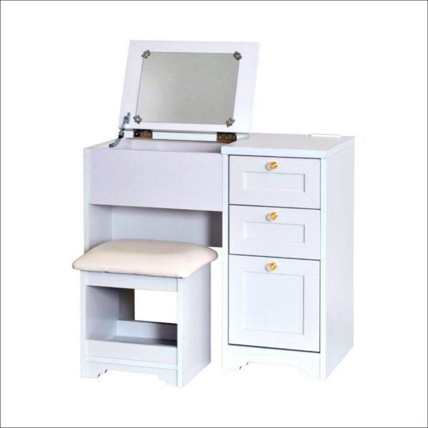 【送料無料】 フェミニンなデザインの姫系家具 ワンルームに最適なドレッサー
