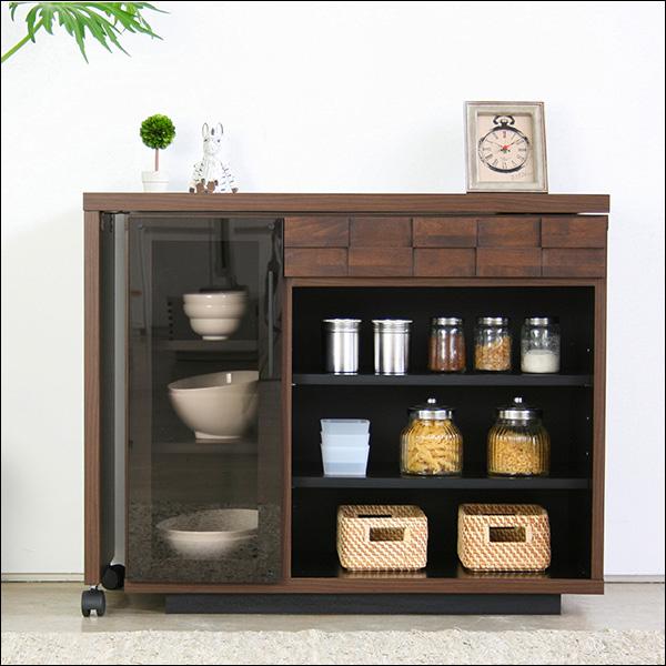 【送料無料】日本製なので安心 モダンなデザインのキッチンデスク