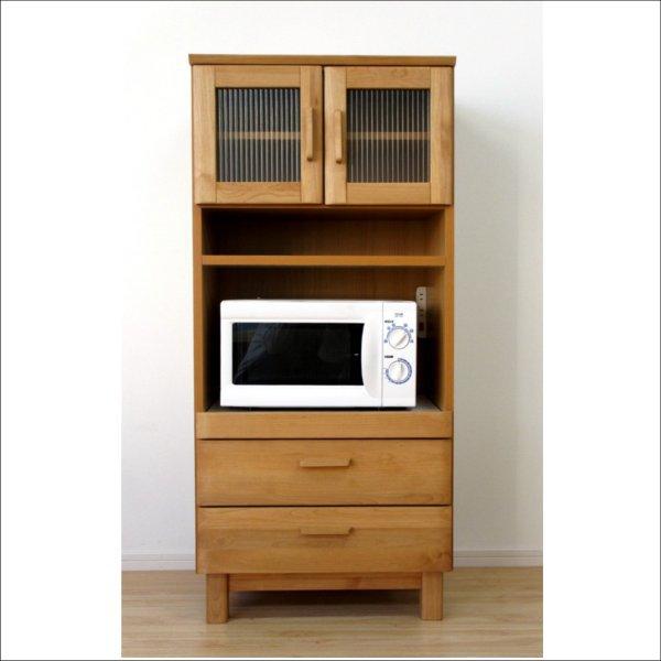 【送料無料】 北欧系 安心して長く使えるアルダー無垢材 キッチンキャビネット 幅60cm
