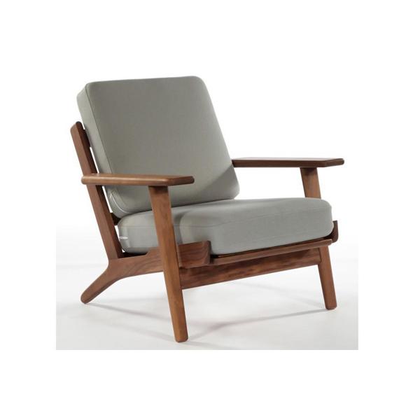ハンス・J・ウェグナー GE290 1人掛けソファ(デザイナーズ家具)
