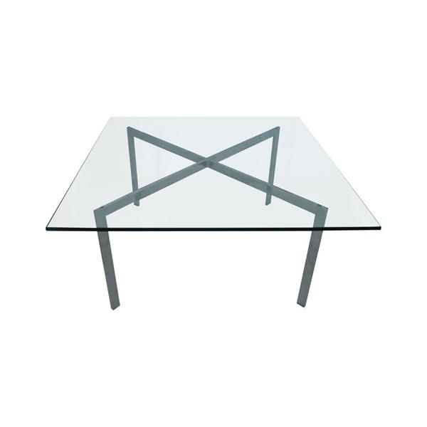 【受注生産】 ミース・ファン・デル・ローエ バルセロナカフェテーブル(デザイナーズ家具)