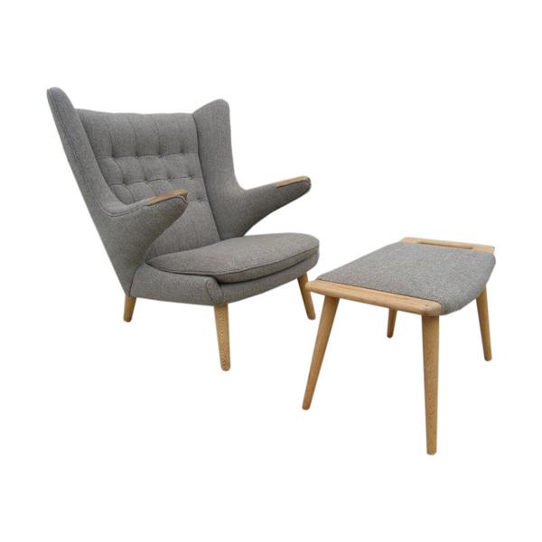 ハンス・J・ウェグナー パパベアチェア(デザイナーズ家具)