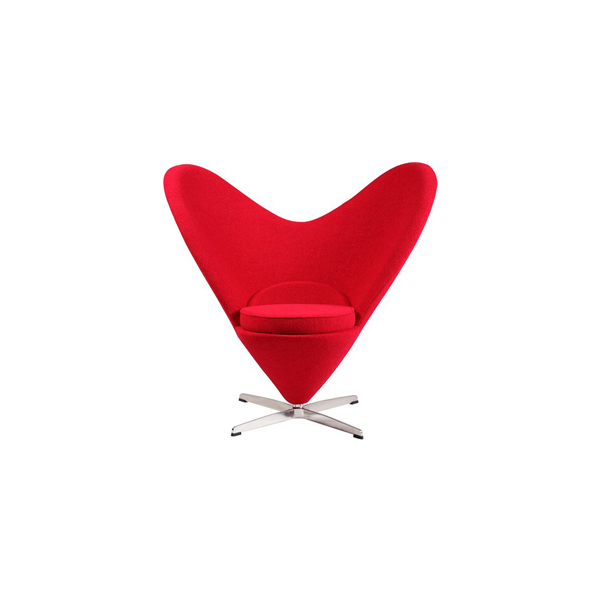 ヴェルナー・パントン ハートコーンチェア(デザイナーズ家具)