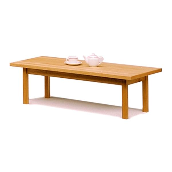 木製リビングテーブル アルダー材の北欧ナチュラル 幅105
