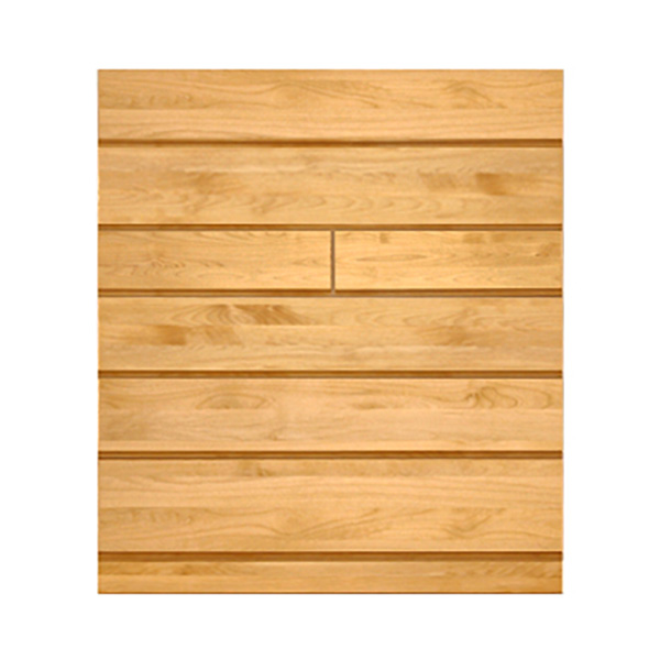 (高野木工)NATURAL アルダー無垢材のハイチェスト(タンス)  幅105