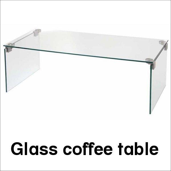 【送料無料】 リビングインテリア 強化ガラス製センターテーブル 幅110