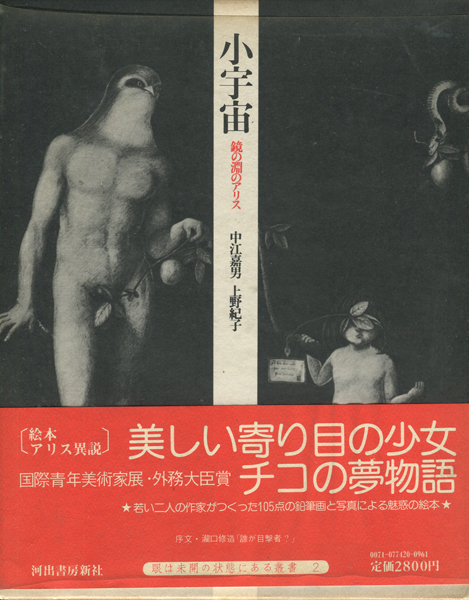 中江嘉男・上野紀子 小宇宙 鏡の淵のアリス