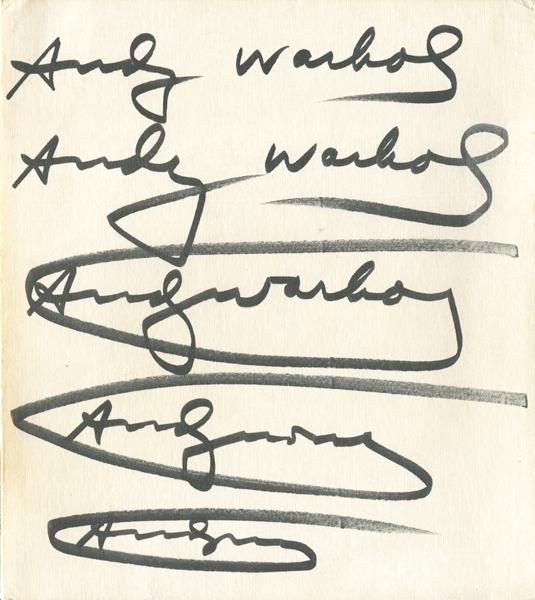 Andy Warhol: Das Graphische Werk 1962-1980