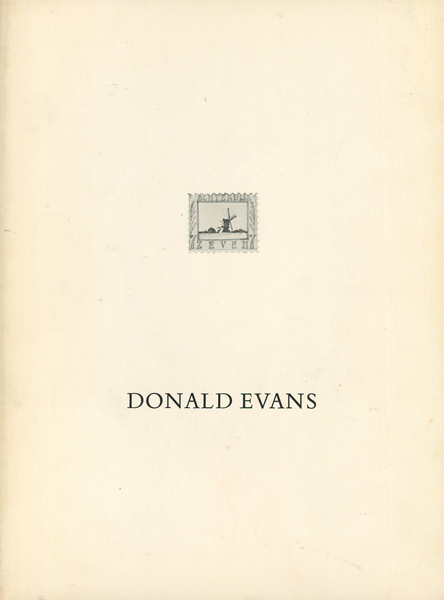 Stamps from the World of Donald Evans