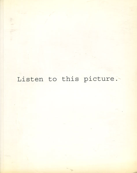 Pierre Bailly: Listen to this picture.