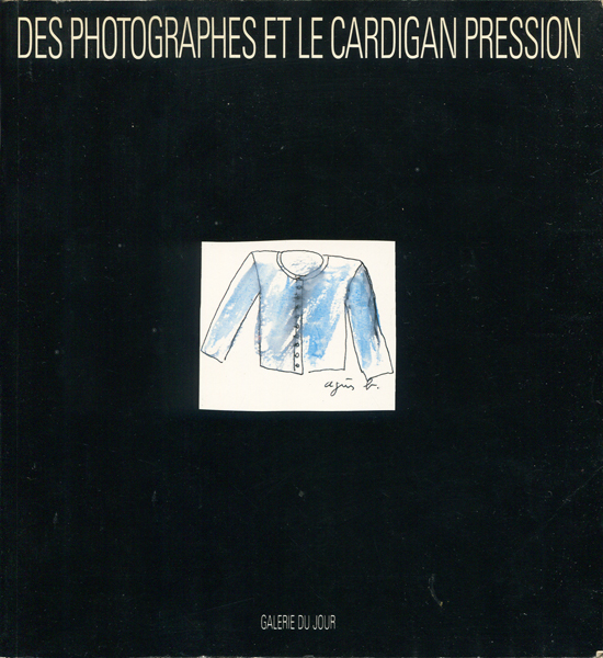 Des photographes et le Cardigan Pression 写真家たちとプレッション・ボタン・カーディガン