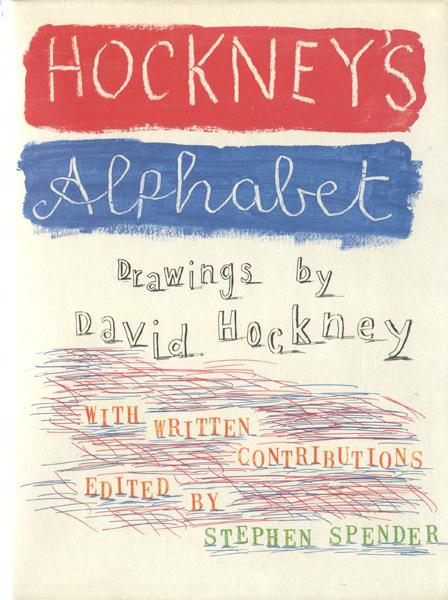 HOCKNEY'S ALPHABET