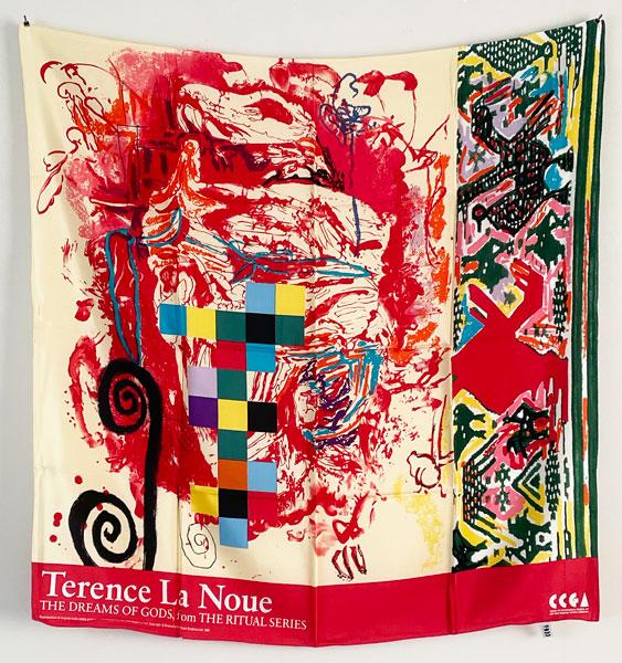 Terence La Noue: CCGA開館記念スカーフ