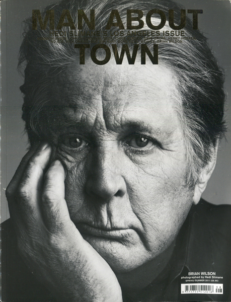 Man About Town - Hedi Slimane's Los Angeles issue