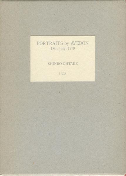 Shinro Ohtake: Portraits by Avedon 18th July, 1979