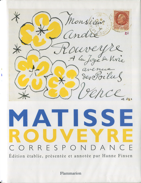 Matisse Rouveyre Correspondance
