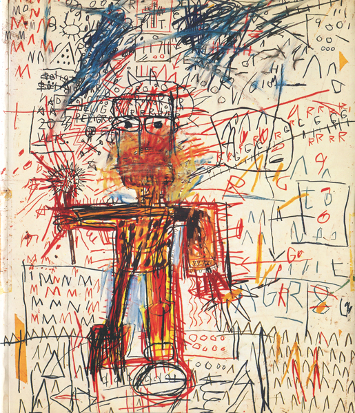 JEAN-MICHEL BASQUIAT: works on paper