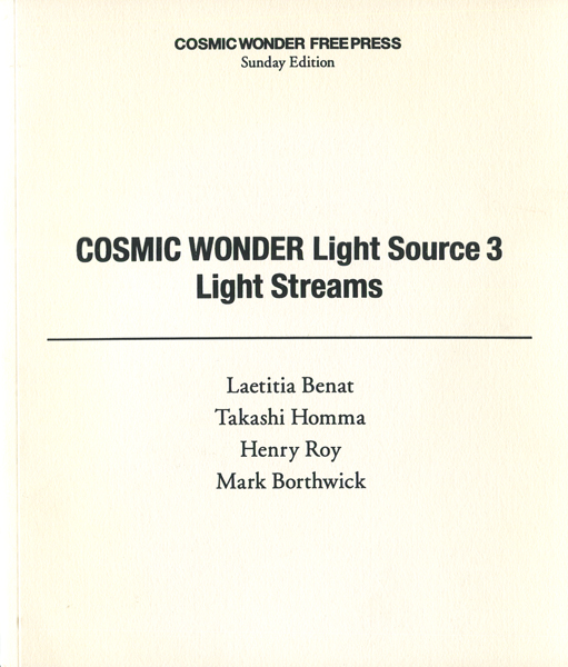 COSMIC WONDER Light Source 3 Light Streams