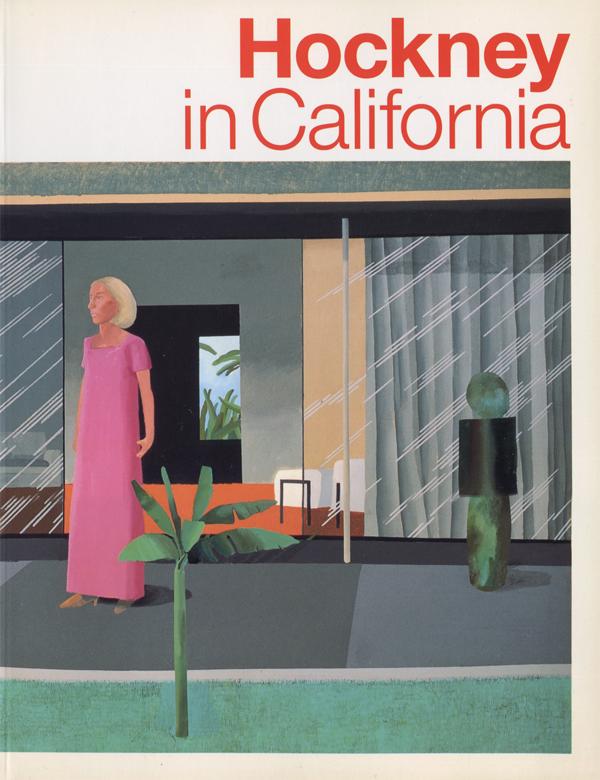 Hockney in California デイヴィッド・ホックニー展 図録