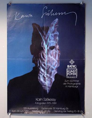 Karin Szekessy Fotografien 1979 - 1989 ポスター