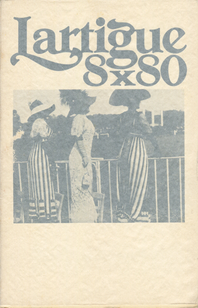 Jacques Henri Lartigue: 8 X 80