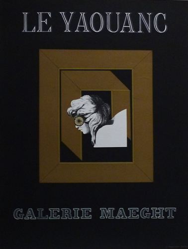 GALERIE MAEGHT ポスター (LE YAOUANC)