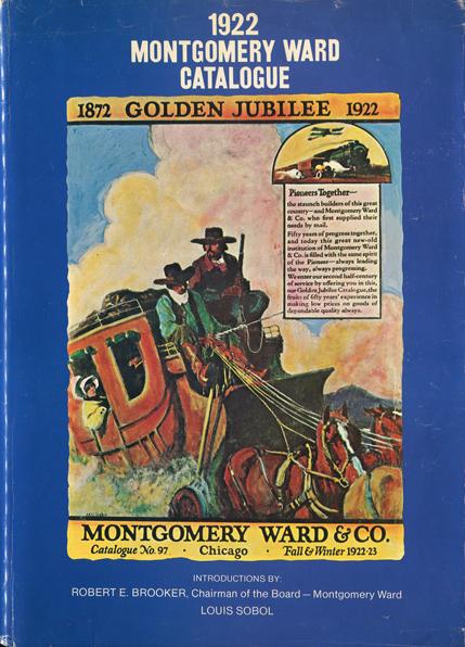 1922 MONTGOMERY WARD CATALOGUE