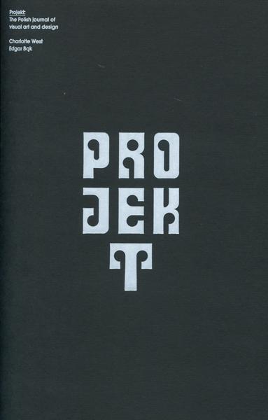 Projekt: The Polish Journal of Visual Art and Design
