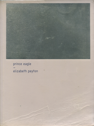 Elizabeth Peyton: Prince Eagle
