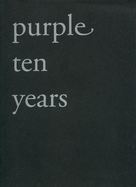 Purple - Winter 2003 number 14 - Ten Years 2冊セット