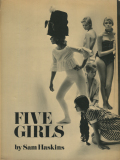 Sam Haskins: Five Girls