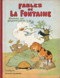 Benjamin Rabier: Fables de La Fontaine 2冊セット