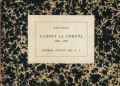Picasso: Carnet La Coruna 1894 - 1895