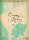 Croquis de Robes Hiver1958