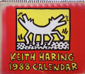 Keith Haring 1988 Calendar