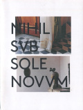 Cecile Hummel: Nihil sub sole novum