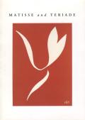 Matisse and Teriade