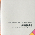 Bruno Munari: Libro illegibile MN 1