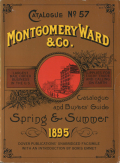 MONTGOMERY WARD & Co. CATALOGUE Spring & summer 1895