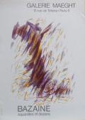 GALERIE MAEGHT ポスター (Jean Bazaine)