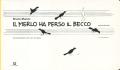 Bruno Munari: IL MERLO HA PERSO IL BECCO
