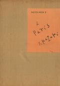 香月泰男スケッチ集3 パリ篇 II・1956年