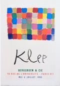 Paul Klee 70 RUE DE L'UNIVERSITE - PARIS VII ポスター