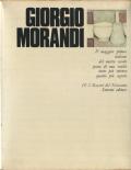 GIORGIO MORANDI: I Maesrti del Novecento