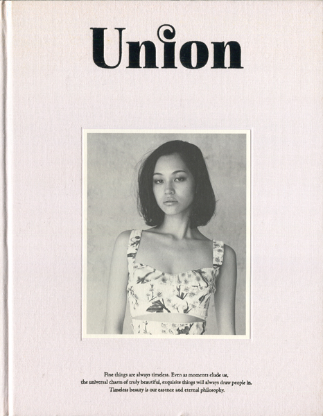 Union: #5 Spring & Summer 2014 / #8 Autumn & Winter 2015 / #10 Autumn & Winter 2016 各巻