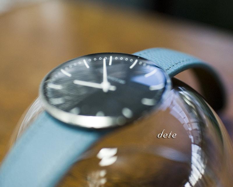 〔オーダーメイドギャラリー〕腕時計ベルト 手縫い for ARNE JACOBSEN CityHall Watch