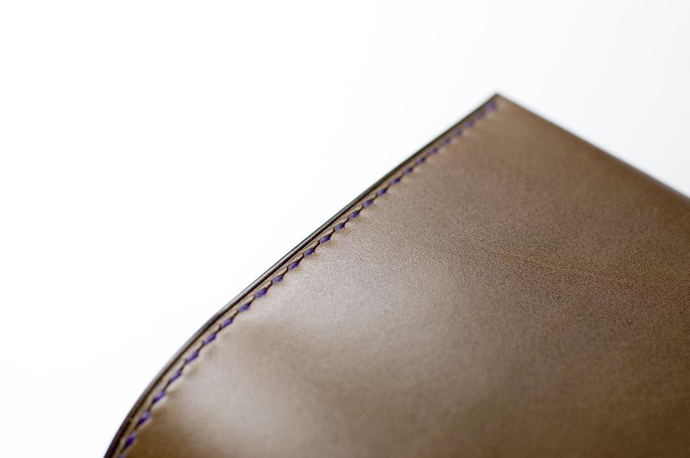 文庫本ブックカバーB オランダ原皮カーフ PRIMO [手縫い受注生産]