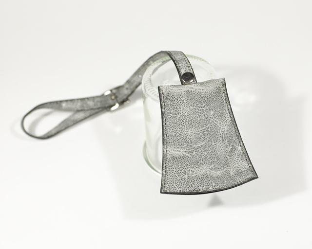 クローシュキーケース 鐘型キーホルダー Elephant象革